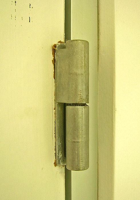 Simple: a hinge
