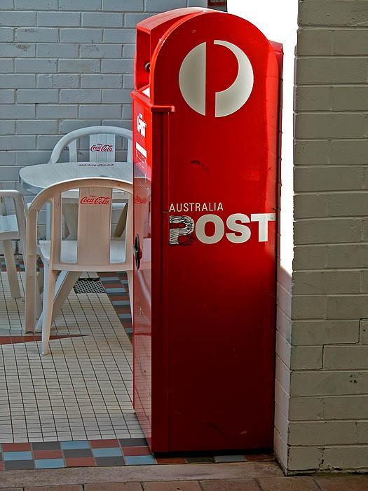 Australia Post letter box