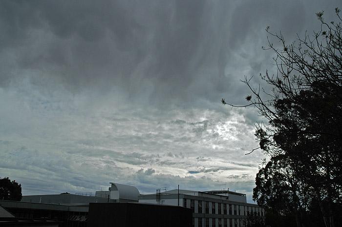 Dark cloudy sky 1