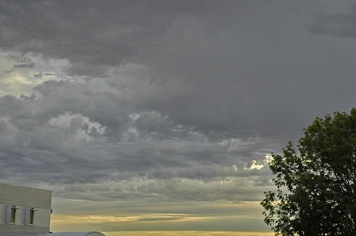 Dark cloudy sky 2