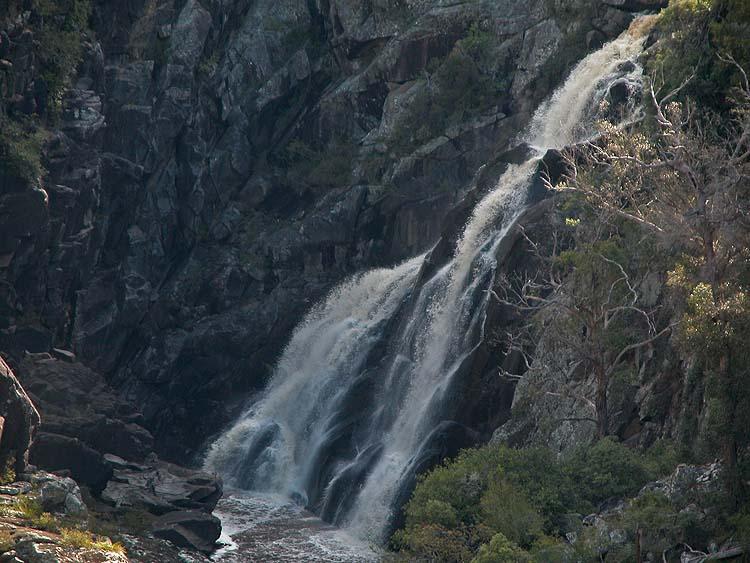 Bakers Creek Falls (detail)