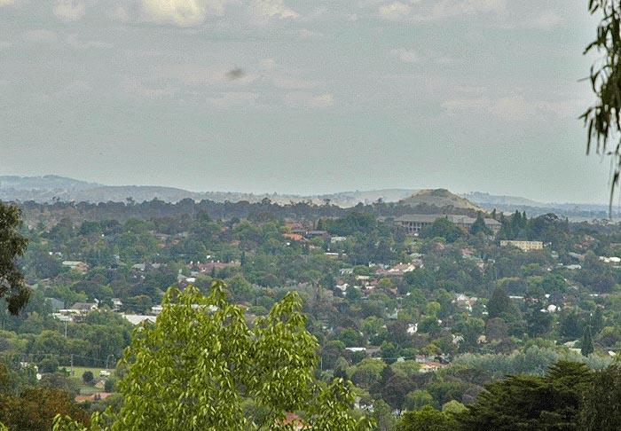 View across Armidale