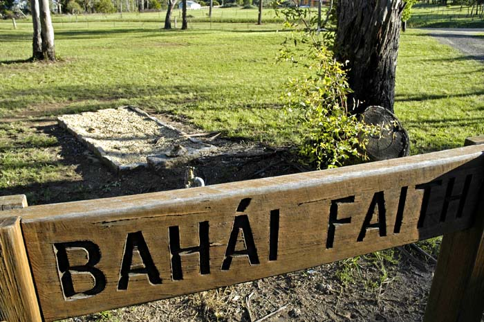 Single Bahai Faith grave