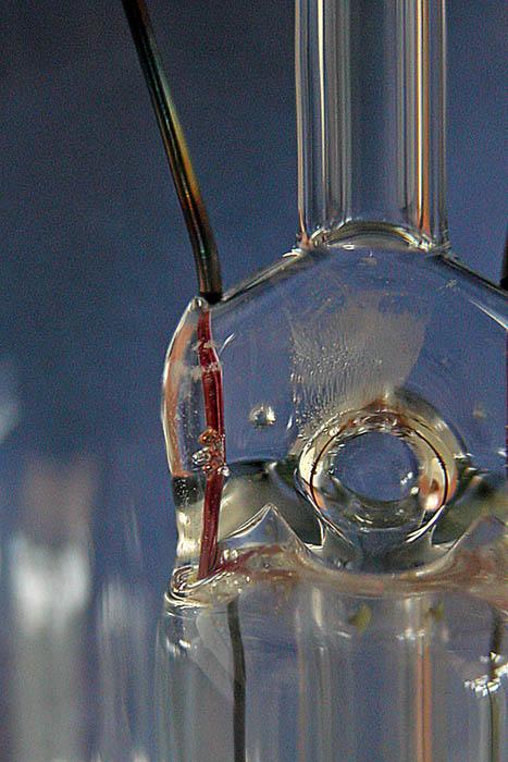 Macro: looking into a light bulb