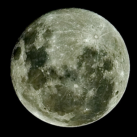 A detailed look at the moon