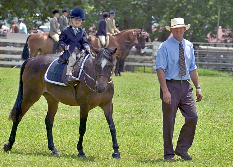 The youngest equestrian