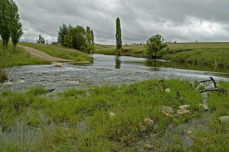Gara River crossing