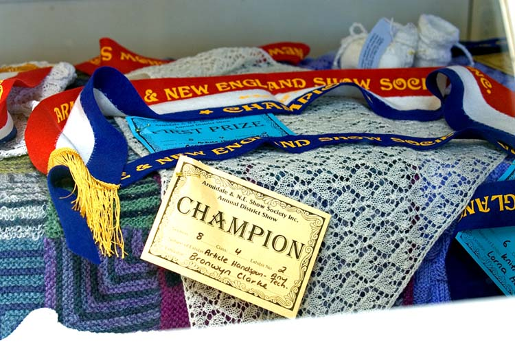 Champion wool article