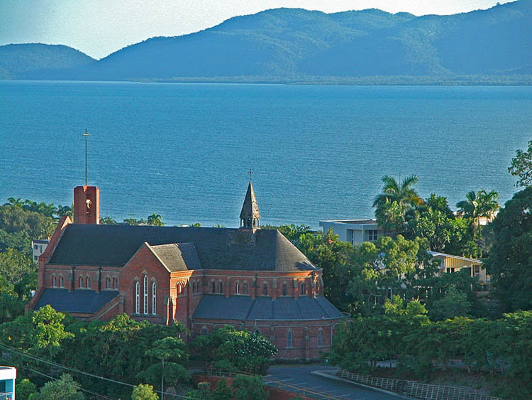 Church and Magnetic Island