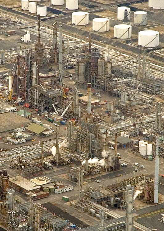 Petrochemicals abound