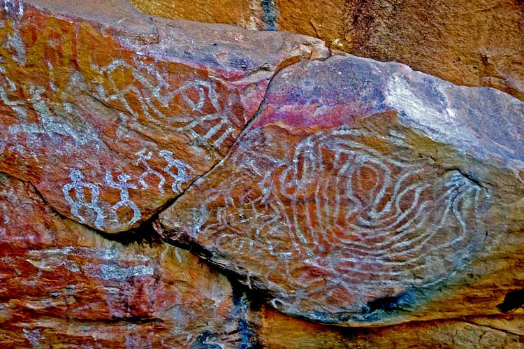 Mount Grenfell - rock art