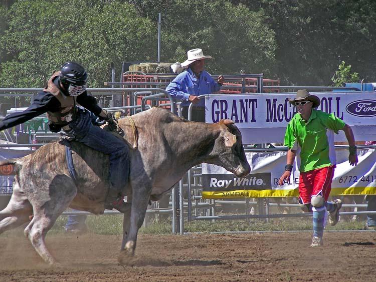 Junior rodeo event