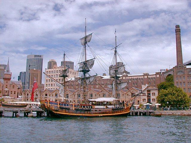 On Sydney Harbour