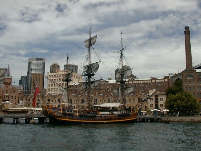 On sydney Harbour (original)