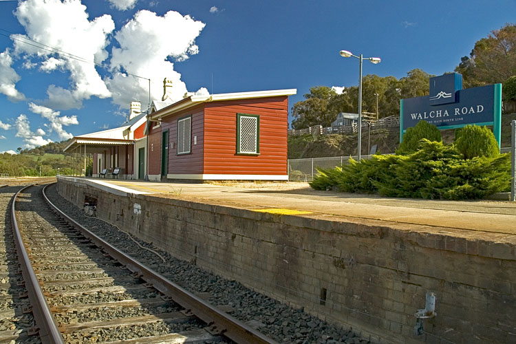 Walcha Road railway station