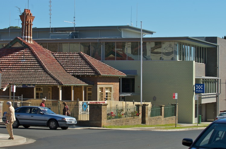 Old and new Armidale Police Station