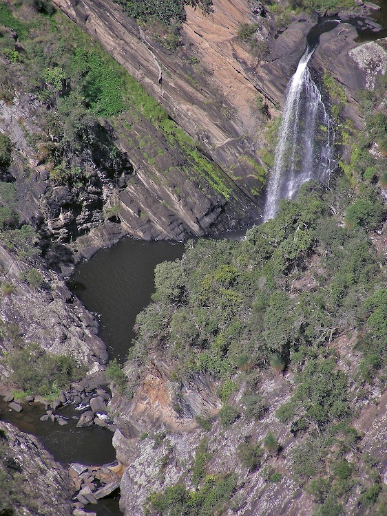 Middle waterfall detail