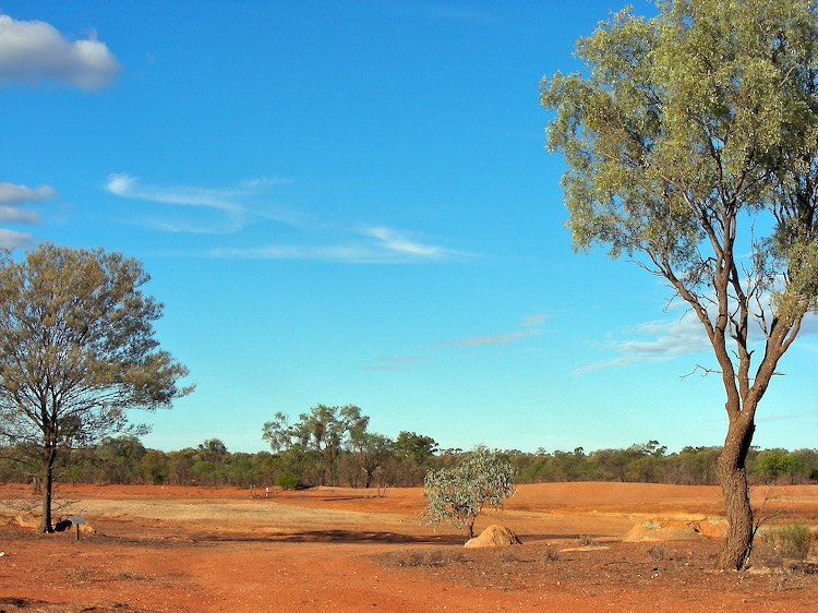 Outback colours
