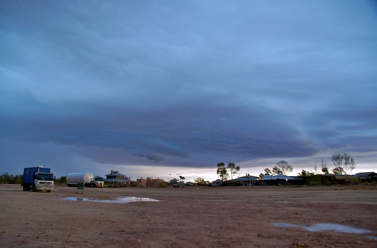 Innamincka at sunrise