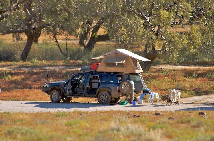 4x4 in touring and camping mode
