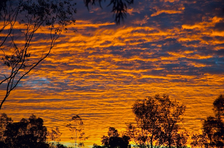 Quilpie sunset