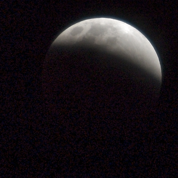 Start of lunar eclipse