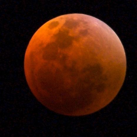 Lunar eclipse - umbra