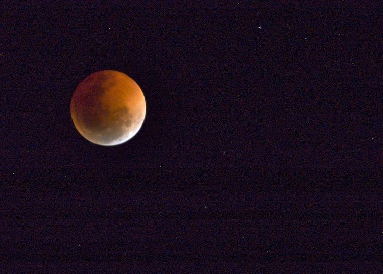 Lunar eclipse - return to the light